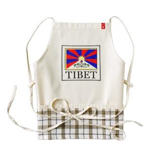 Tibet Zazzle HEART Apron