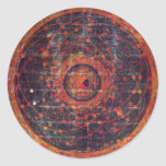 Tibetan astronomical Thangka Stickers