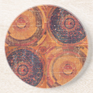 Tibetan Astronomy Drink Coaster
