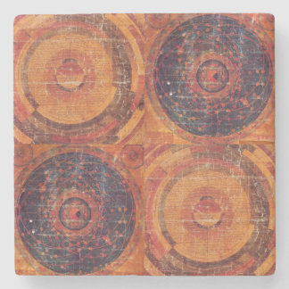 Tibetan Astronomy Stone Beverage Coaster