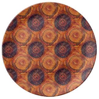 Tibetan Astronomy Porcelain Plates