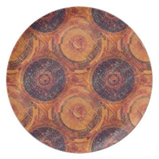 Tibetan Astronomy Party Plates