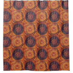 Tibetan Astronomy Shower Curtain