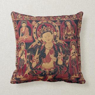 Tibetan Bodhisattva Throw Pillow