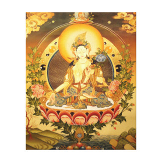 Tibetan Buddhist Art Stretched Canvas Print