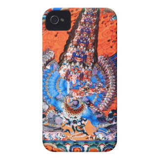 Tibetan Buddhist Art (Chemchok Heruka) iPhone 4 Covers
