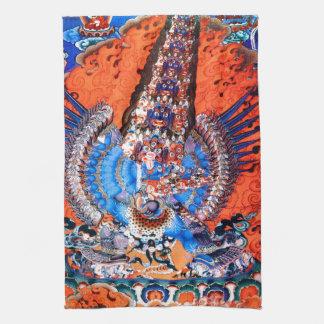Tibetan Buddhist Art (Chemchok Heruka) Hand Towel