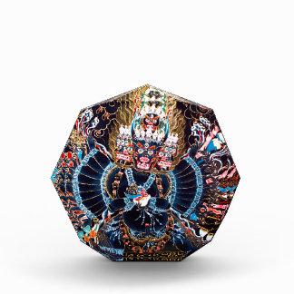 Tibetan Buddhist Art (Chemckok Heruka) Acrylic Award