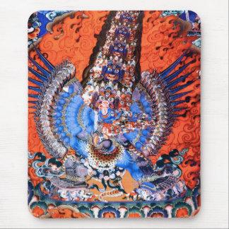 Tibetan Buddhist Art (Chemckok Heruka) Mouse Pad