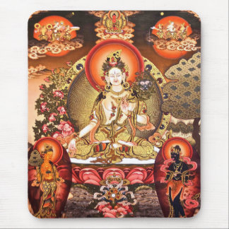 Tibetan Buddhist Art Mousepad