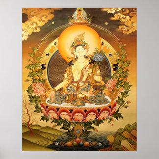 Tibetan Buddhist Art Print