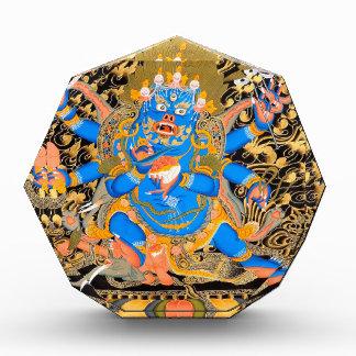 Tibetan Buddhist Art Print Acrylic Award