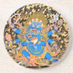 Tibetan Buddhist Art Print Coaster