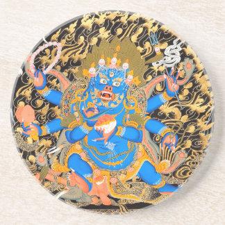 Tibetan Buddhist Art Print Coasters