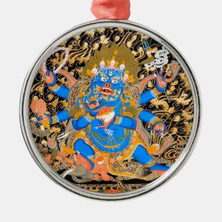 Tibetan Buddhist Art Print Metal Ornament