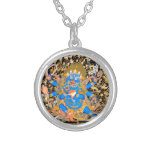 Tibetan Buddhist Art Print Personalized Necklace