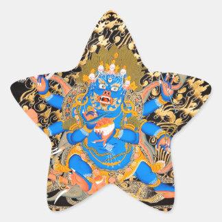 Tibetan Buddhist Art Print Star Sticker