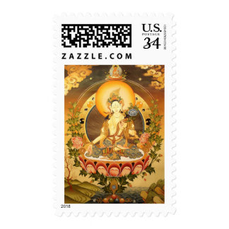 Tibetan Buddhist Art Stamp