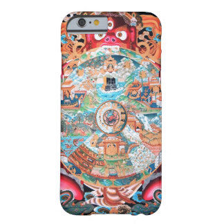 Tibetan Buddhist Art (Wheel of Life) Barely There iPhone 6 Case