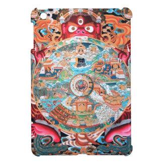 Tibetan Buddhist Art (Wheel of Life) iPad Mini Cases