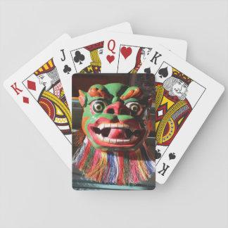 Tibetan Buddhist Festival Mask Playing Cards