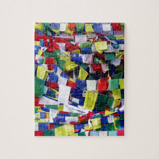 Tibetan Buddhist Prayer Flags Jigsaw Puzzle