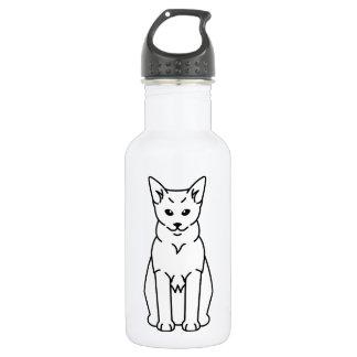 Tibetan Cat Cartoon Stainless Steel Water Bottle