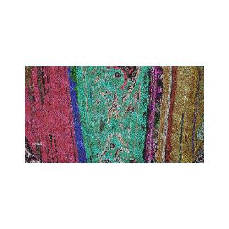 Tibetan Dragon Thangka (Abstract) Canvas Print