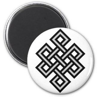 Tibetan eternity knot infinity endless symbol reli magnet