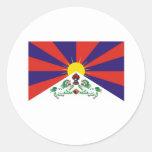 TIBETAN FLAG STICKERS