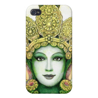 Tibetan Goddess Green Tara i Cases For iPhone 4