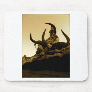 Tibetan Horns Mousepads