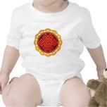 Tibetan Karma Buddhism Eternal Knot Baby Bodysuits