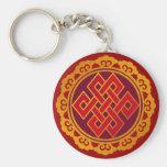 Tibetan Karma Buddhism Eternal Knot Keychains