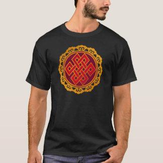 Tibetan Karma Buddhism Eternal Knot T-Shirt