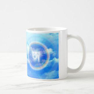 Tibetan Letter AH Classic White Coffee Mug