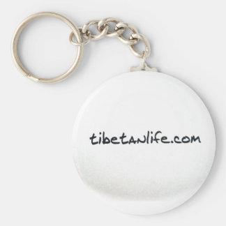 Tibetan Life Keychain