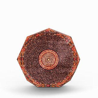Tibetan Mandala Art (Black, Gold, Red, Yellow) Award