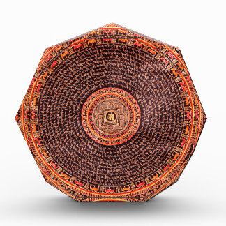 Tibetan Mandala Art (Black, Gold, Red, Yellow) Awards