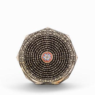 Tibetan Mandala Art (Gold & Black) Award