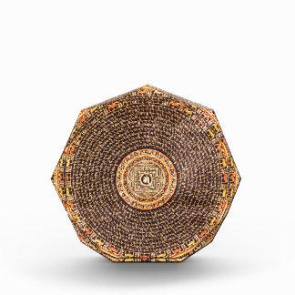 Tibetan Mandala Art (Gold & Black) Awards