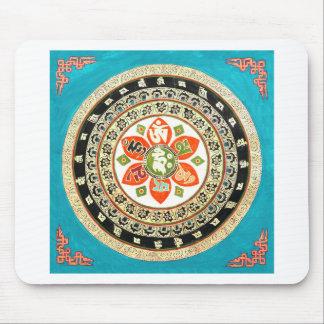 Tibetan Mandala Art Mouse Pad