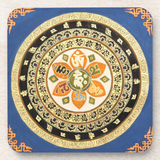 Tibetan Mandala Coasters
