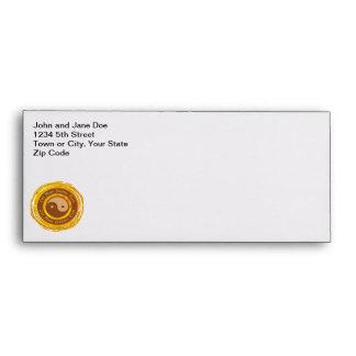 Tibetan Mantra Yin Yang Envelope