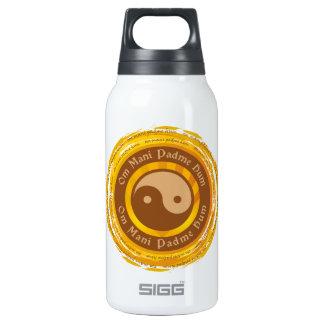 Tibetan Mantra Yin Yang Thermos Water Bottle