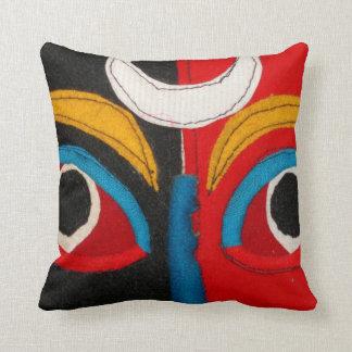Tibetan Mask Cushion