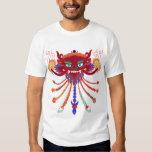 tibetan mask interpretation tee shirt