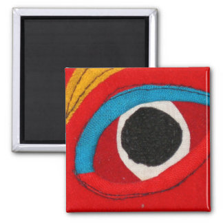 Tibetan Mask Magnet