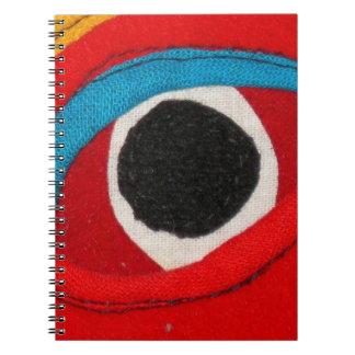 Tibetan Mask Notebook