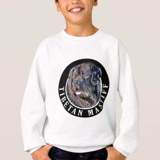 Tibetan Mastiff Dog 002 Sweatshirt